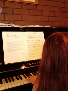 Piano Girl performs Clowns from Getting to Preliminary New Mix