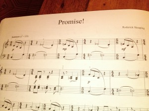 Promise! by Roderick Skeaping