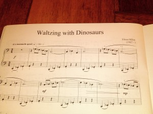 Waltzing with Dinosaurs by Elissa Milne
