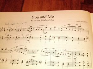 You and Me No 16 from Rhythm & Rag by Alan Houghton