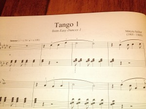 Tango 1 from Easy Dances 1 by Maytas Seiber