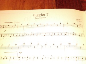Juggler 7 from Gaukler by Luis Zett