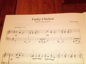 Funky Chicken from In a Jazz Groove by Arletta O'Hearn