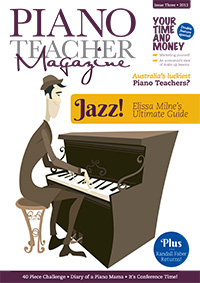 Piano Teacher Magazine Issue 3