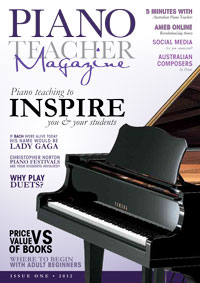 Piano Teacher Magazine Issue 1